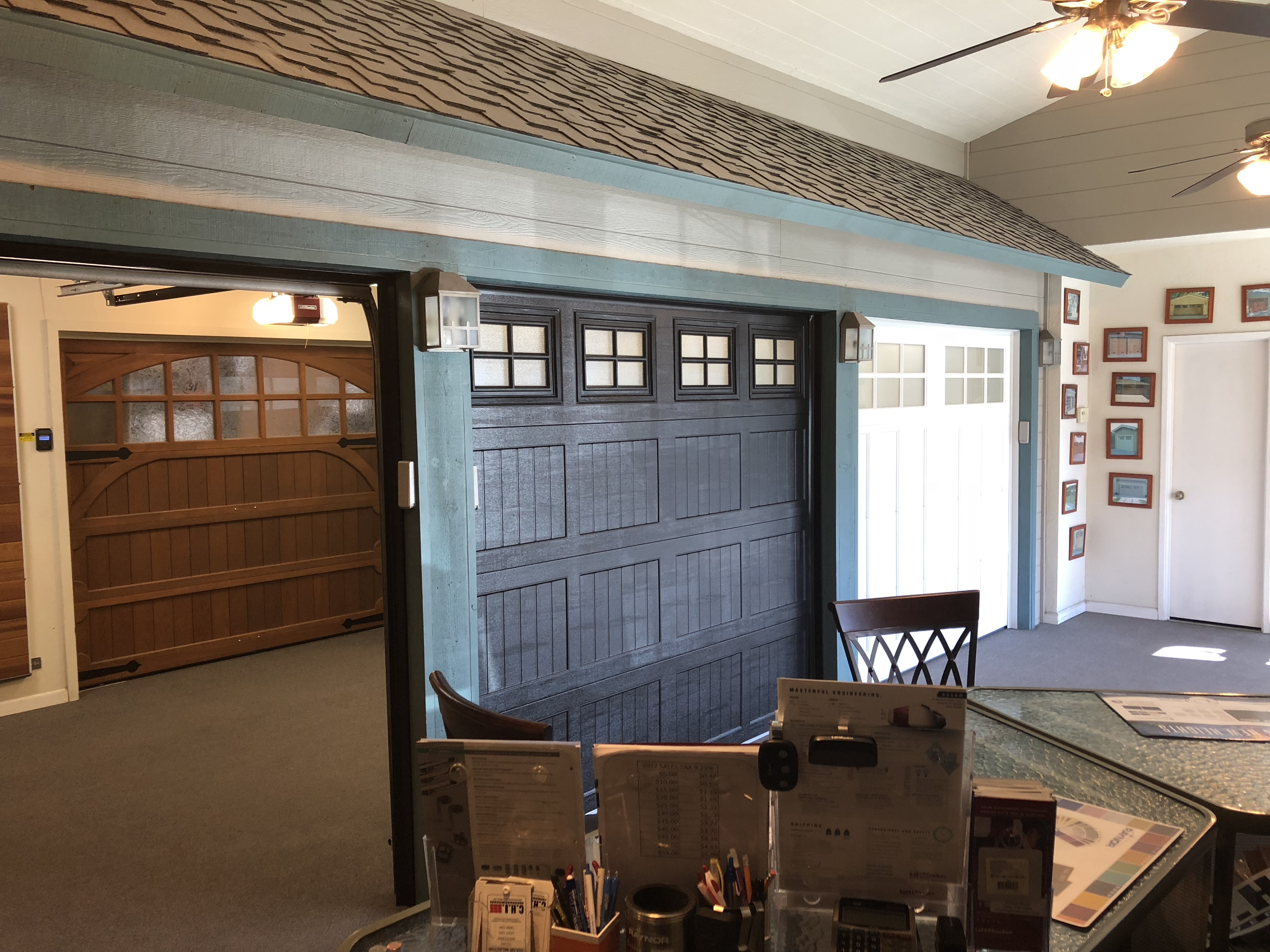 Showroom Mike Howard Garage Doors